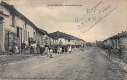 CPA MONTZEVILLE - Grande Rue Haute - Altri Comuni