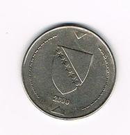 // BOSNIE HERZEGOVINA   1  MARKA  2000 - Bosnia And Herzegovina