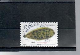 43-poissons De La Mer-sole-cachet Rond - France