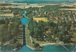 Cartolina Dalla Svezia (Bergs Slussar, Vreta Kloster) Per Brescia 1984 (vedi Foto) - Svezia
