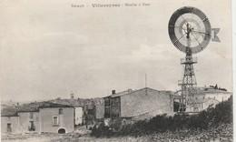 CPA:MOULIN À VENT VILLEVEYRAC (34)..ÉCRITE - Otros Municipios