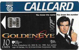 Ireland - Eircom - James Bond 007, GoldenEye - 10Units, 11.1995, 150.000ex, Used - Ireland