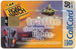 Ireland - Eircom - AA Roadwatch - Traffic Jams Delays Lights - 50Units, 06.1999, 50.000ex, Used - Ireland