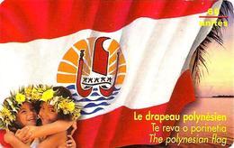 FRENCH POLYNESIA 60 U  GIRLS WOMAN  FLAG  FPY-073 SPECIAL PRICE !!! READ DESCRIPTION !! - French Polynesia