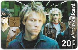 Ireland - Eircom - Bon Jovi - 20Units, 2000, 80.000ex, Used - Ireland