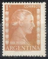 Argentina 1952 - Eva Peron * MH - Donne Celebri