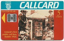 Ireland - Eircom - Call Box (Yesteryear) - 5Units, 05.1995, 60.000ex, Used - Ireland