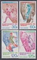 Tchad PA N° 208 / 11  XX Sports : Sujets Divers,  Les 4 Valeurs Sans Charnière, T.B - Tchad (1960-...)