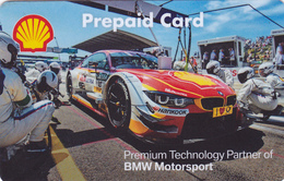 Gift Card  - - -  Germany  - - -  Shell - - - BMW Motorsport - Gift Cards