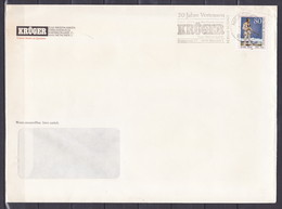 BRD, MiNr. 1314; EF Auf Portoger. Brief  Massendrucksache Von München, C-141 - Cartas