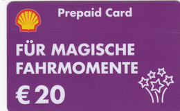 Gift Card  - - -  Germany  - - -  Shell - - - Für Magische Fahrmomente - Gift Cards