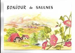 54 - Un Bonjour De SAULNES - Autres Communes