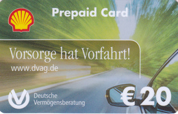 Gift Card  - - -  Germany  - - -  Shell - - - DVAG - Gift Cards