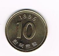 //  KOREA - SOUTH 10 WON 1995 - Corée Du Sud