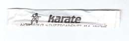 Bustina Stuzzicadenti - Karate - Autres Collections