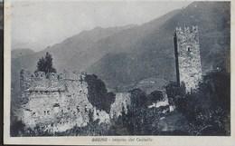 BRENO (BS) - INTERNO CASTELLO - FORMATO PICCOLO - EDIZ. MICHELETTI BRESCIA - VIAGGIATA 1928 - Castelli