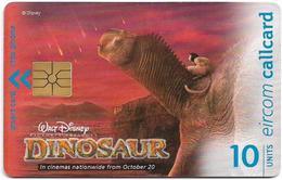 Ireland - Eircom - Disney - Dinosaur - 10Units, 2000, 40.000ex, Used - Ireland