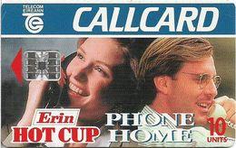 Ireland - Eircom - Erin Hot Cup '95 - 10Units, 11.1995, 100.000ex, Used - Irlanda