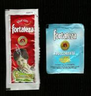 2 Bustine Zucchero ( Spagna ) - Fortaleza - Zucchero (bustine)