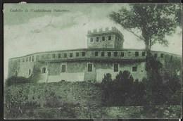 CASTELLO DI MONTECHIARO (VALTREBBIA) - FORMATO PICCOLO - EDIZ. CAMISA PIACENZA - VIAGGIATA 1927 DA GRAZZANO VISCONTI - Castelli