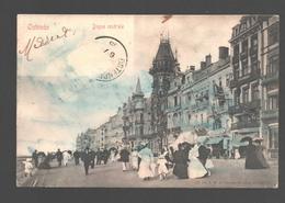Oostende / Ostende - Digue Centrale - Enkele Rug - 1906 - Oostende