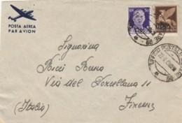 LETTERA 1943 50+50 PA PM 99 MONTENERO (IX57 - 1900-44 Vittorio Emanuele III