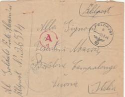 LETTERA 1944 FELDPOST  (IX169 - 1900-44 Victor Emmanuel III
