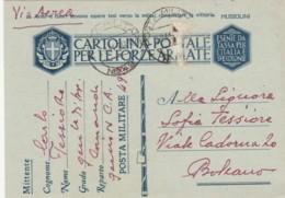 CARTOLINA FRANCHIGIA P49A ALBANIA 1941  (IX241 - Franchigia