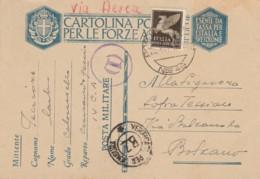 CARTOLINA FRANCHIGIA PM49 VARIANTE NRO +50C PA  (IX291 - 1900-44 Vittorio Emanuele III