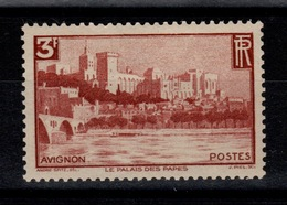 YV 391 N* (trace) Avignon Cote 15 Euros - Neufs