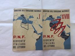 PAGELLA SCOLASTICA  PNF GIL MONTELIBRETTI ROMA 1939/1940. - Diplomi E Pagelle