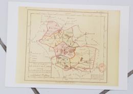 FRANCE - Carte Géographique - LOIR ET CHER 41 - 1ère Carte Des Départements Origine 1792 - Landkarten