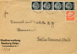 (Lo3281) Brief DR St. Seeburg Ostpr. N. Berlin - Germania
