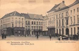 CPA Termonde - Grand'Place - Dendermonde