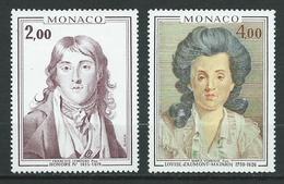 MONACO 1976 . N°s 1065 Et 1066 . Neufs  ** (MNH) . - Neufs