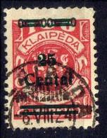 Memel / Klaipeda 1923 Mi 219, Gestempelt [020619XXVII] - Memelgebiet