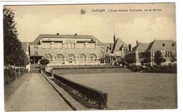 Jodoigne - Ecole Normale Provinciale Vue De Derrière- Edit. E. Latour - 2 Scans - Geldenaken