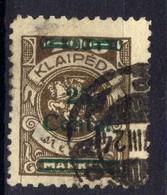 Memel / Klaipeda 1923 Mi 220, Gestempelt [020619XXVII] - Memelgebiet