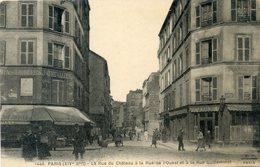 75  PARIS   14e AR   RUES DU CHATEAU/RUE DE L'OUEST/RUE GUILLEMINOT - Arrondissement: 14