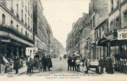 75  PARIS   14e AR   RUE  DE GERGOVIE - Arrondissement: 14