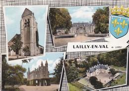 LAILLY EN VAL - Dépt 45 - MULTIVUES  - Photo Véritable - Francia