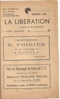 Saintes La Liberation D'anis Et Saintonge  Votre Journal - Saintes