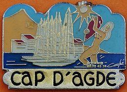 JJ...852....CAP D AGDE - Villes