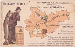 CPA  -  EMULSION SCOTT ------ MONTAUBAN - Montauban