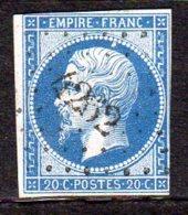 Savoie Sainte Foy De Tignes Pc 4262 (ind Pothion Sur Lettre 24 = 1000 Eu) - 1849-1876: Periodo Classico