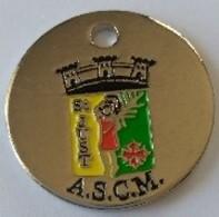 Jeton De Caddie - Sport - Foot Ball - A.S.C.M. - St JUST (34) - En Métal - Neuf - - Einkaufswagen-Chips (EKW)