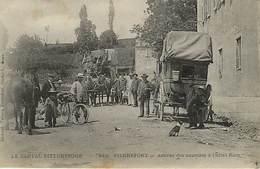 15 Pierrefort  Arrivée Des Courriers  Diligence - Frankreich