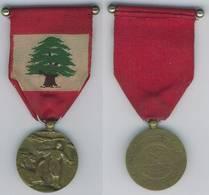 ORDRE DU MERITE LIBANAIS 2ND TYPE 4e CLASSE. ETAT TTB/SUP. - France
