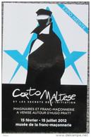 Pratt - Corto Maltese - Carte Promo - Cartes Postales