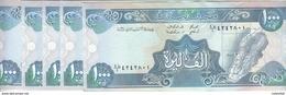 LEBANON 1000 LIVRES 1990 P- 69b Lot X5 UNC NOTES */* - Libanon
